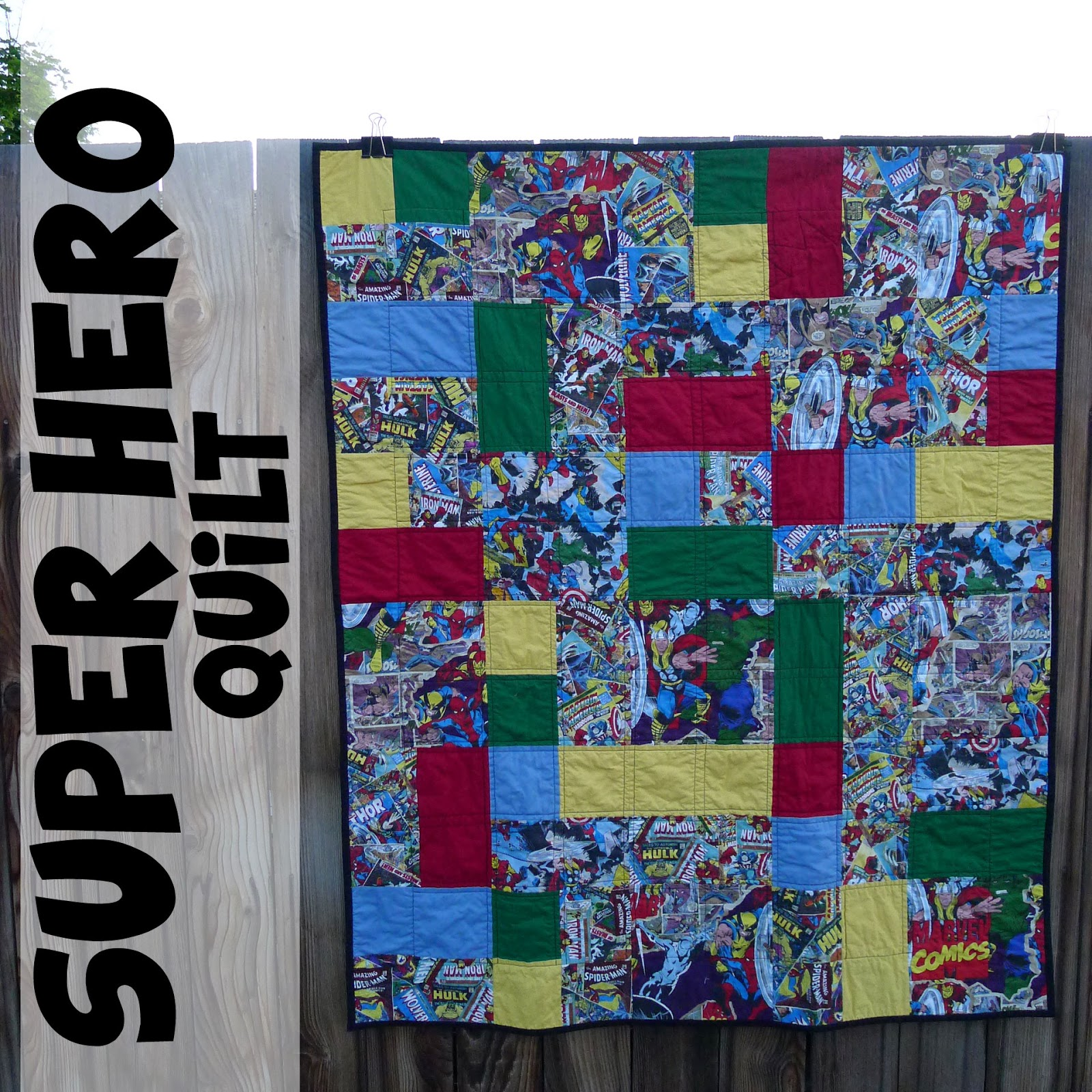 Pieces by Polly: Super Hero Quilt (with the Avengers and Superman) : superhero quilts - Adamdwight.com
