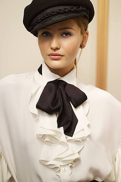 Christina for a Ralph Lauren ad campaigns