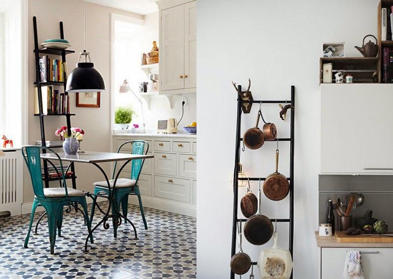 Escaleras viejas para decorar ideas creativas que cambiaran el aspecto de tu casa maria victrix - Ideas para reciclar muebles viejos ...