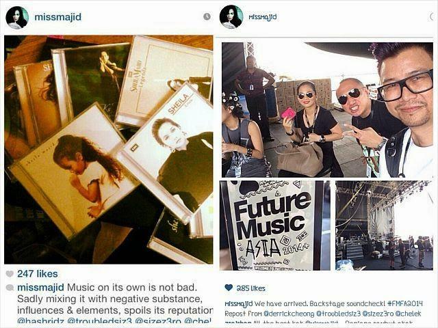 Sheila Majid Pandang Serius Insiden Fmfa, Beri Pesanan Di Instagram