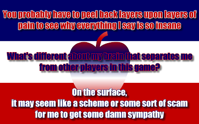 The Apple - Eminem Song Lyric Quote in Text Image