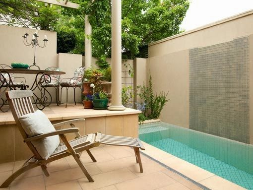 Muebles y decoraci n de interiores peque as piscinas for Muebles para piscina