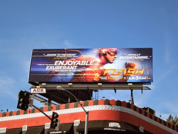The Flash series premiere review billboard