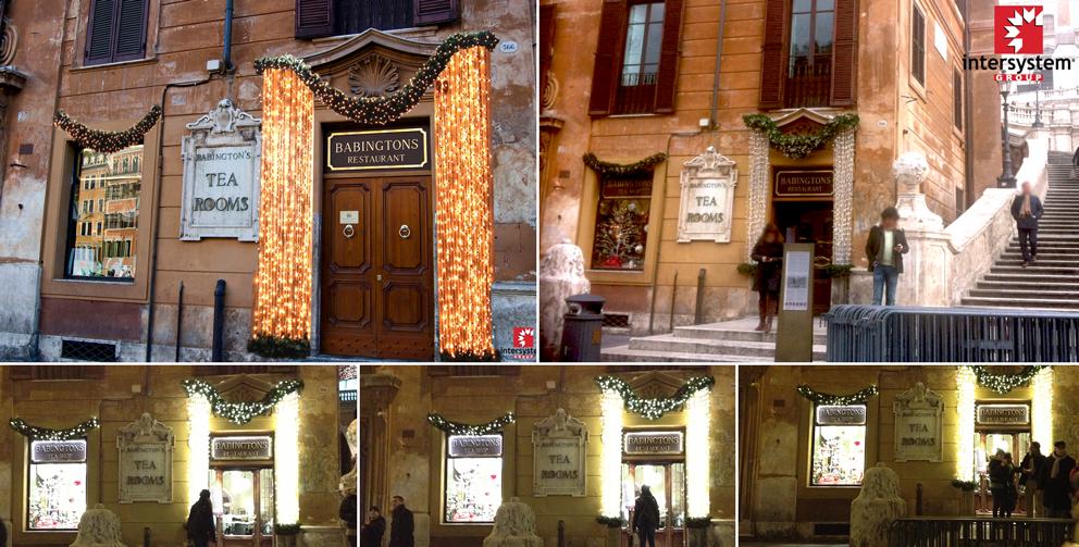 Intersystem arredamento negozi natale - Ghirlande luminose per esterno ...