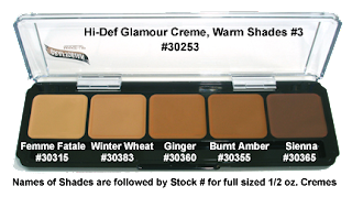 graftobian creme foundation palette warm3