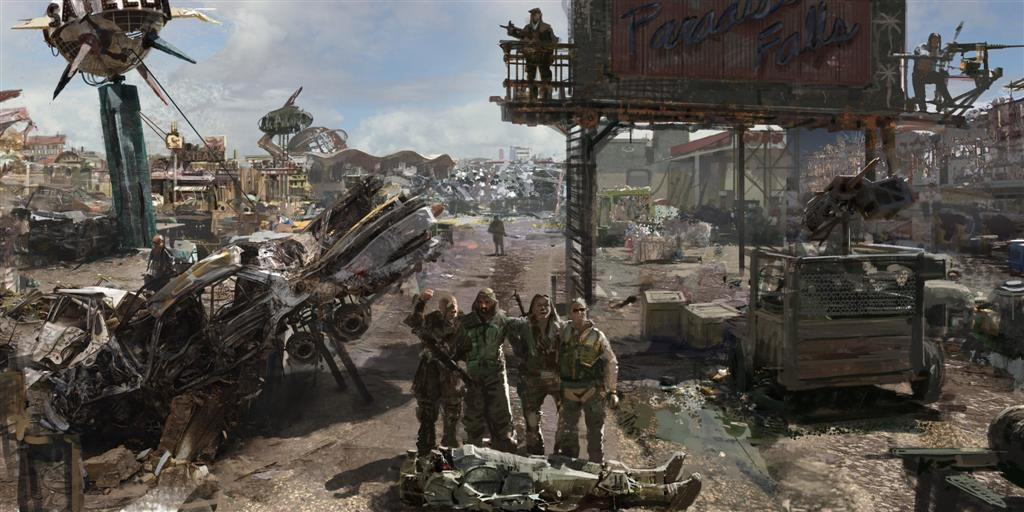 Fallout HD & Widescreen Wallpaper 0.0372263757891105