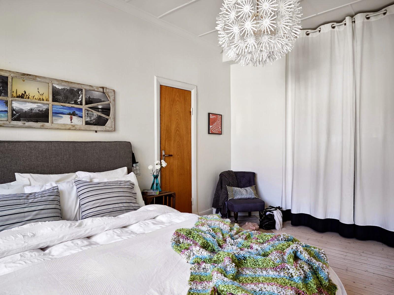 Inspiraci n deco estilo n rdico en madera y negro tr s studio blog de decoraci n - Cabecero estilo escandinavo ...