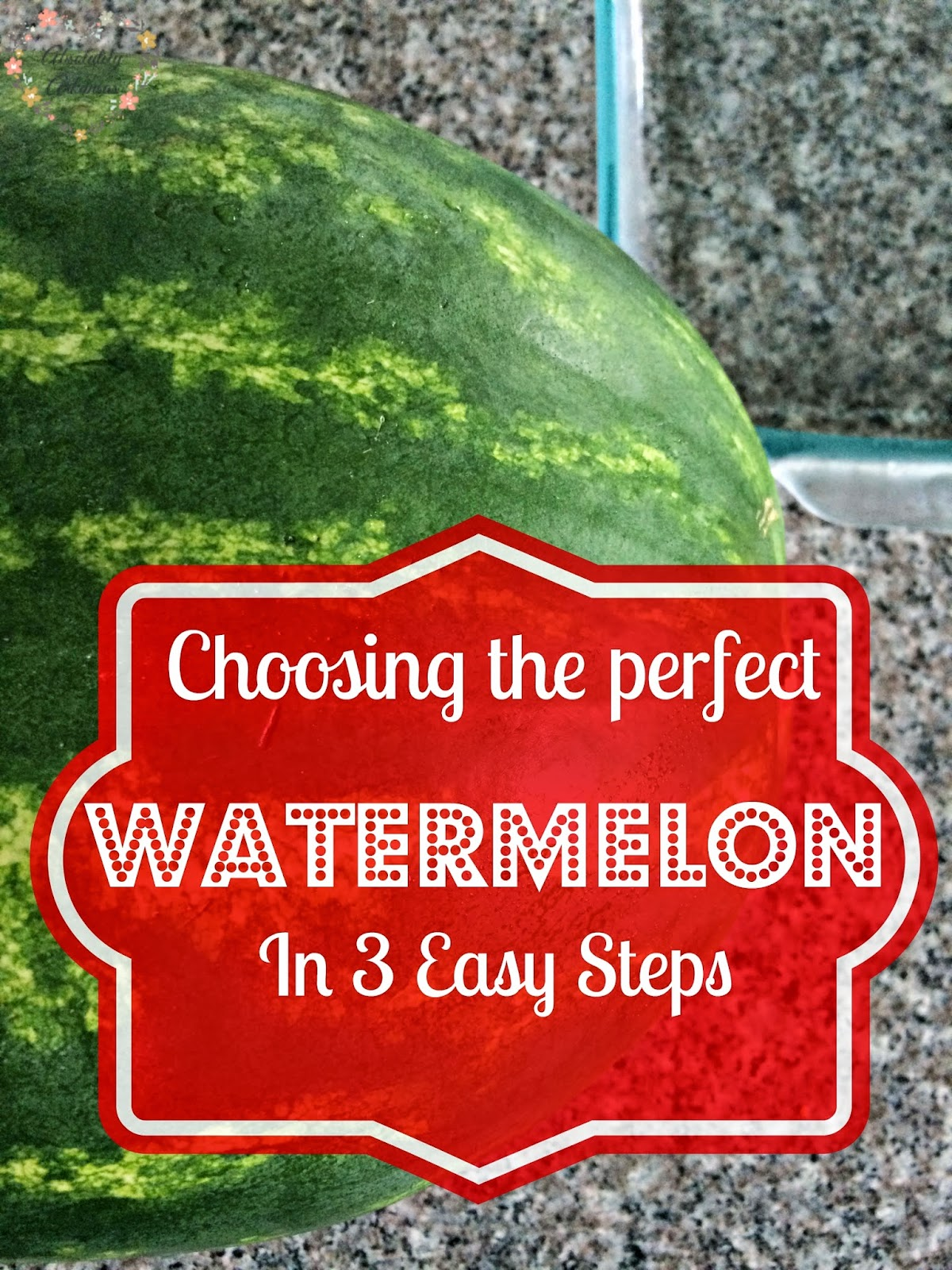 how to choose a perfect watermelon