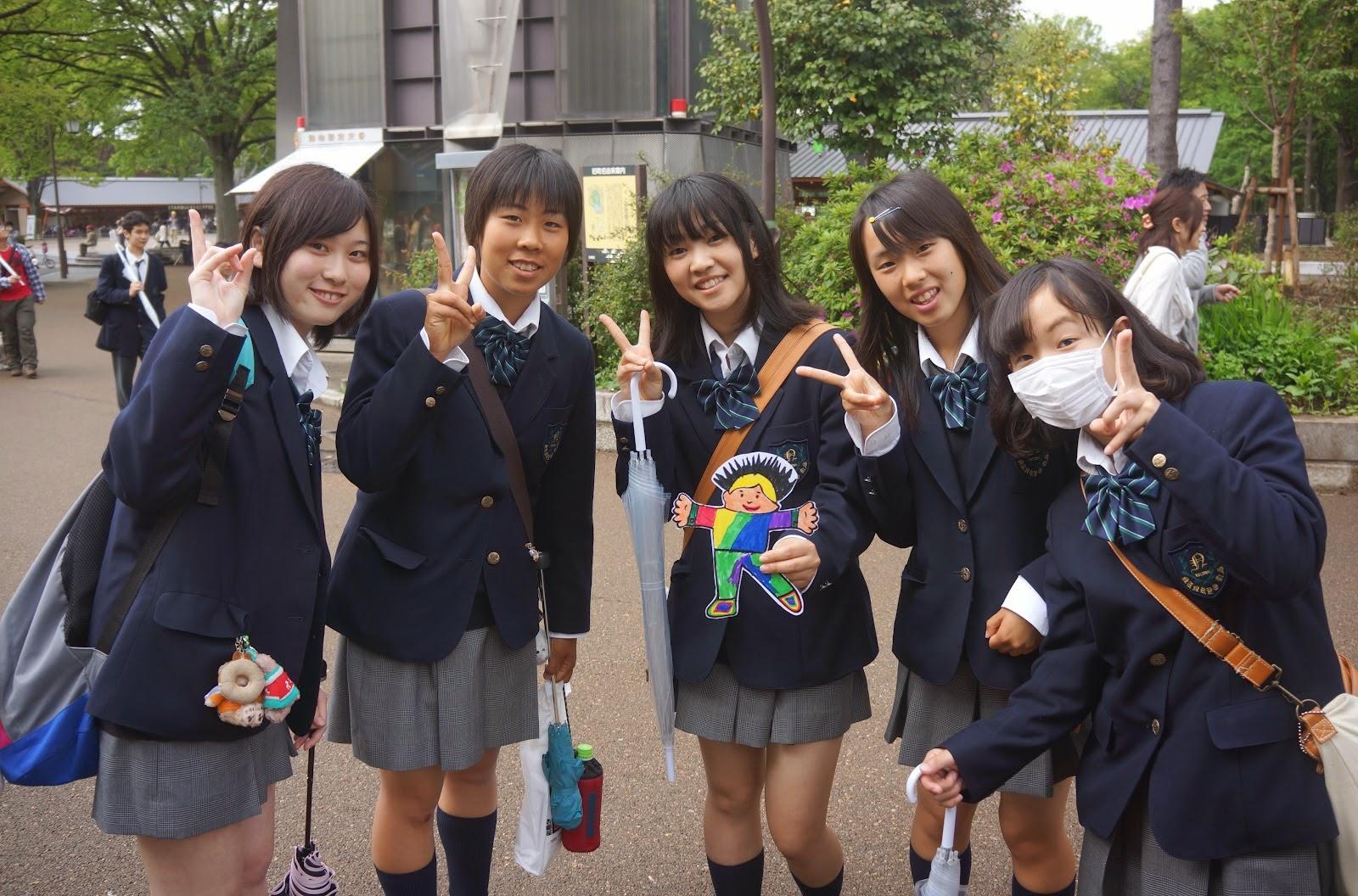 Yusuke Japan Blog: Do you wear a uniform at your school?