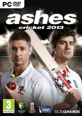 Ashes Cricket 2013 PC Cover