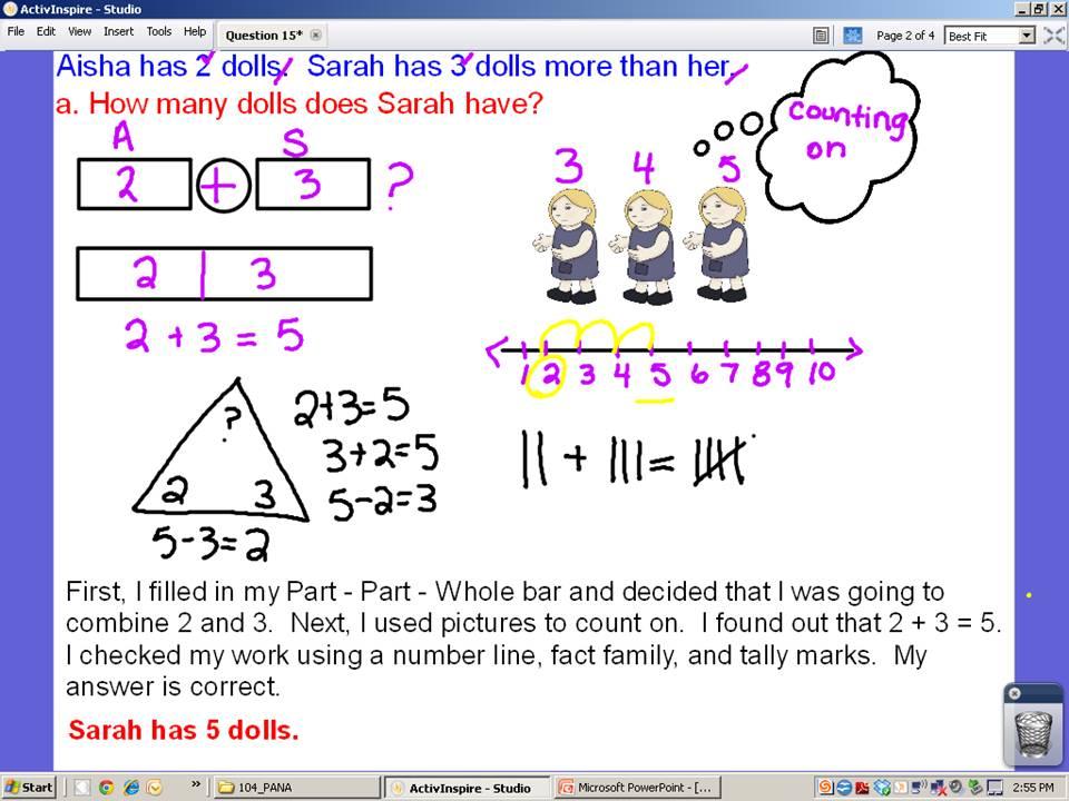 Second grade math problem solving strategies