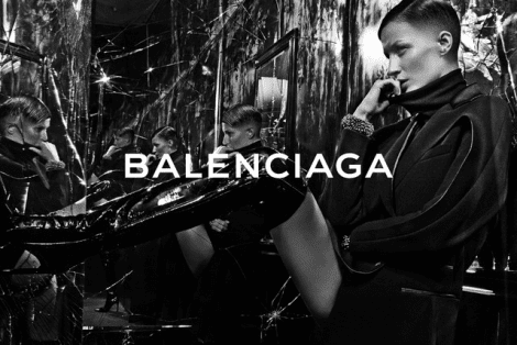 Gisele Shaves Head for Balenciaga FW14
