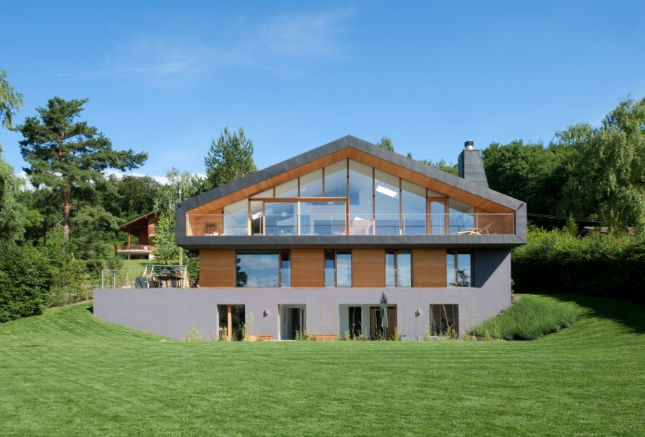 Modern minimalist swiss chalet most beautiful houses in for Architecture suisse