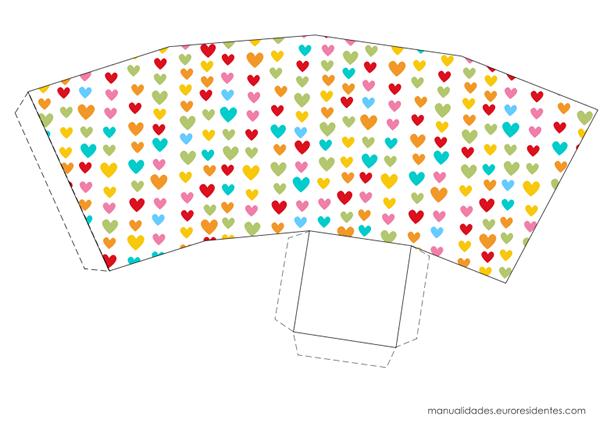 Manualidades: 10 cajitas imprimibles para el 14 de febrero