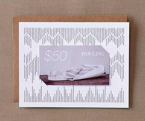 Pawling $50 Gift Card