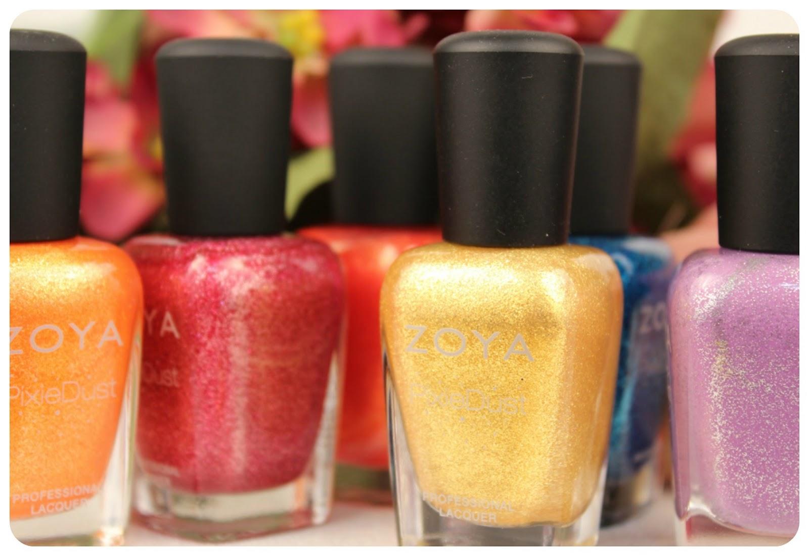 Fun Fierce Fabulous Beauty Over 50!: Nails ~ Zoya Pixie Dust Nail ...
