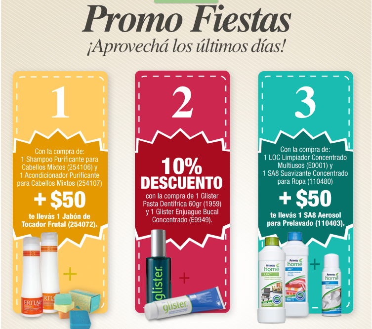 Amway discount coupons