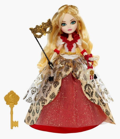 TOYS : JUGUETES - EVER AFTER HIGH  Thronecoming - Muñeca Apple White  Producto Oficial | Mattel BJH53 | A partir de 6 años