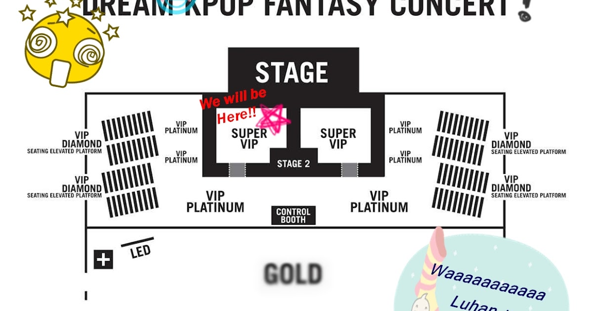 We Are Going To Dkfc Dream Kpop Fantasy Concert Stage
