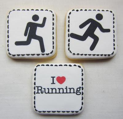 galletas running con papel de azucar impreso
