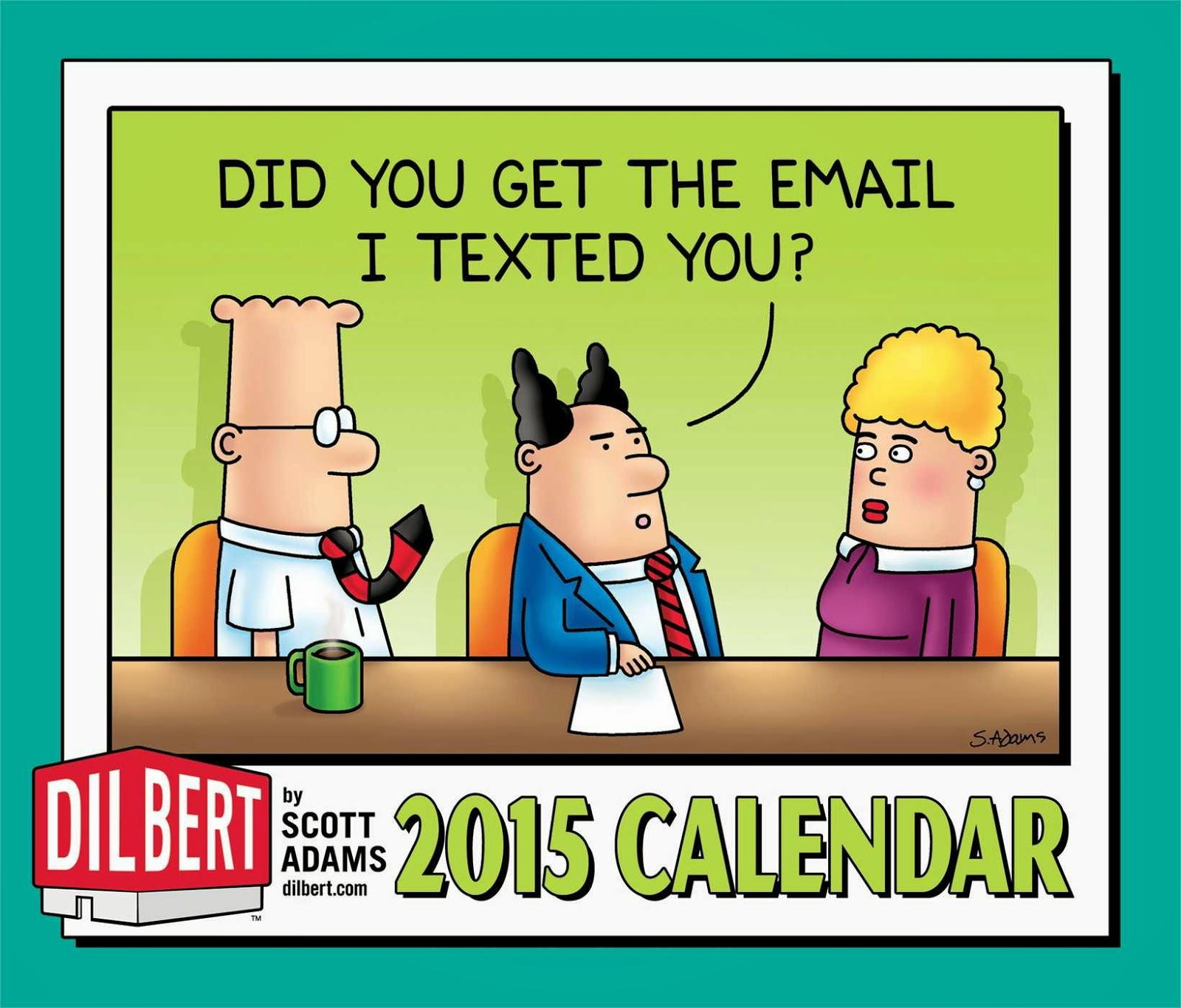 Dilbert 2015 Day-to-Day Calendar