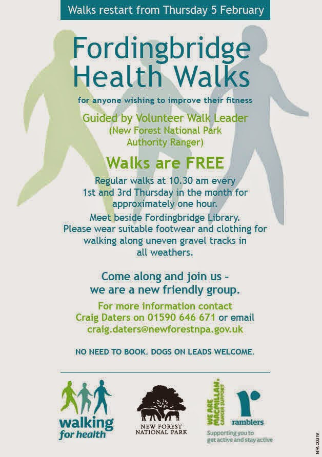 Fordingbridge Health Walks for anyone wishing to improve their fitness