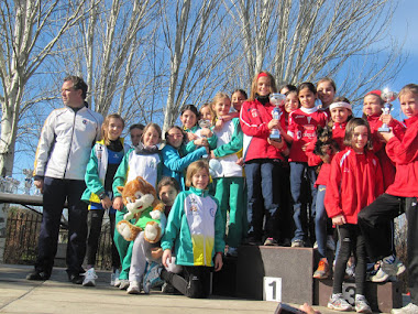 Subcampeonas Cross Comunidad Madrid 2013