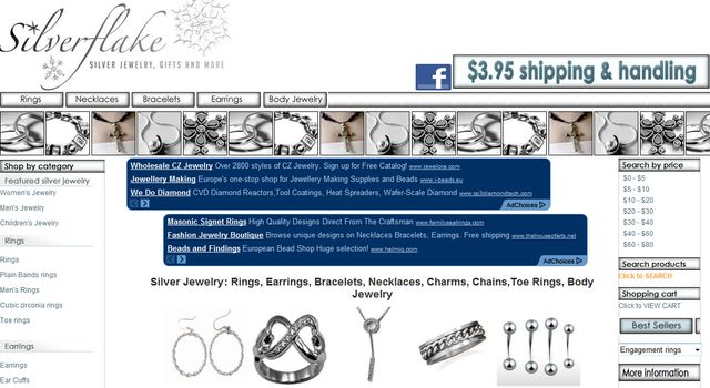 SilverFlakeCom - Best Silver Body Jewelry