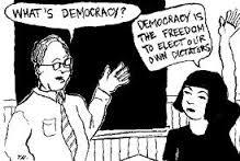 makna bersikap demokratis
