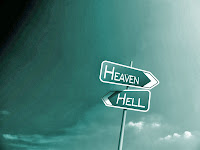 heaven hell sign