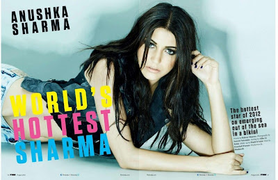 Anushka Sharma on FHM Magazine