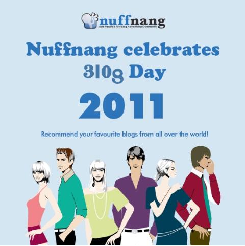 Nuffnang Celebrates BlogDay!