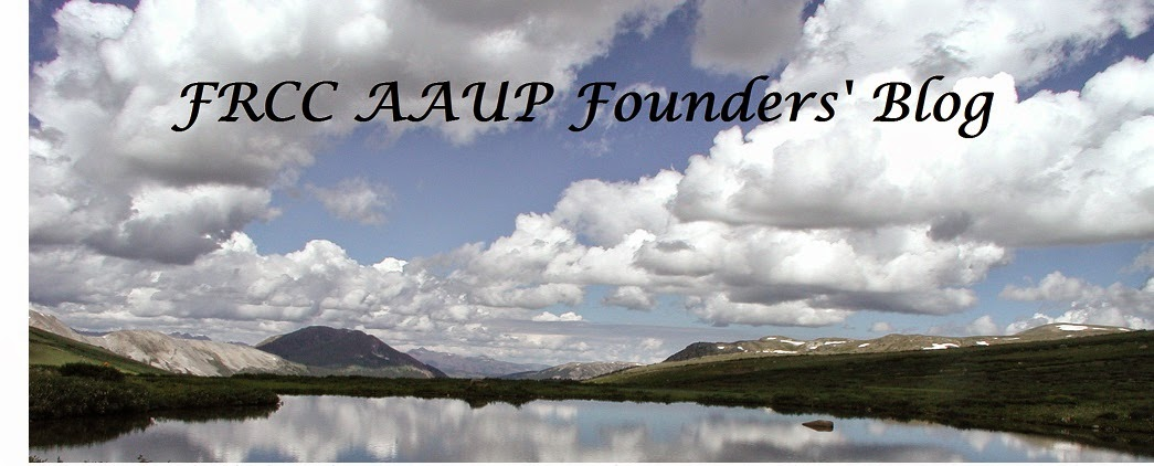 FRCC Chapter, AAUP:  Founders' Update
