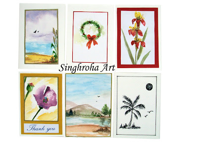 stationery,assorted, notecards, cards,blankcards,set,assortedcards,watercolorcards