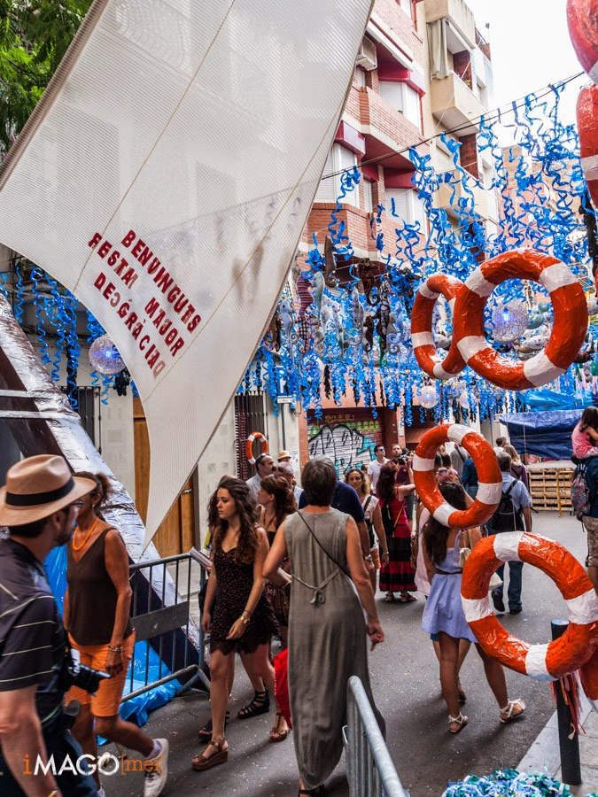 Festes de Gràcia 2014. Barcelona.