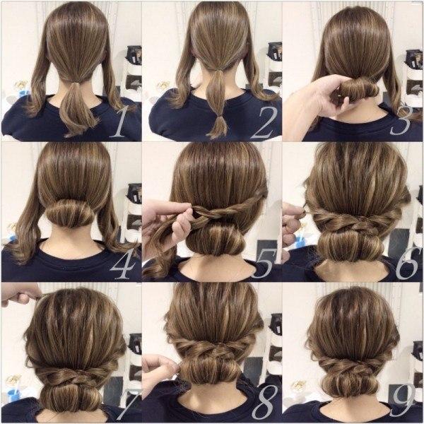cómo hacer peinados bonitos y rápidos paso a paso ~ belleza y peinados