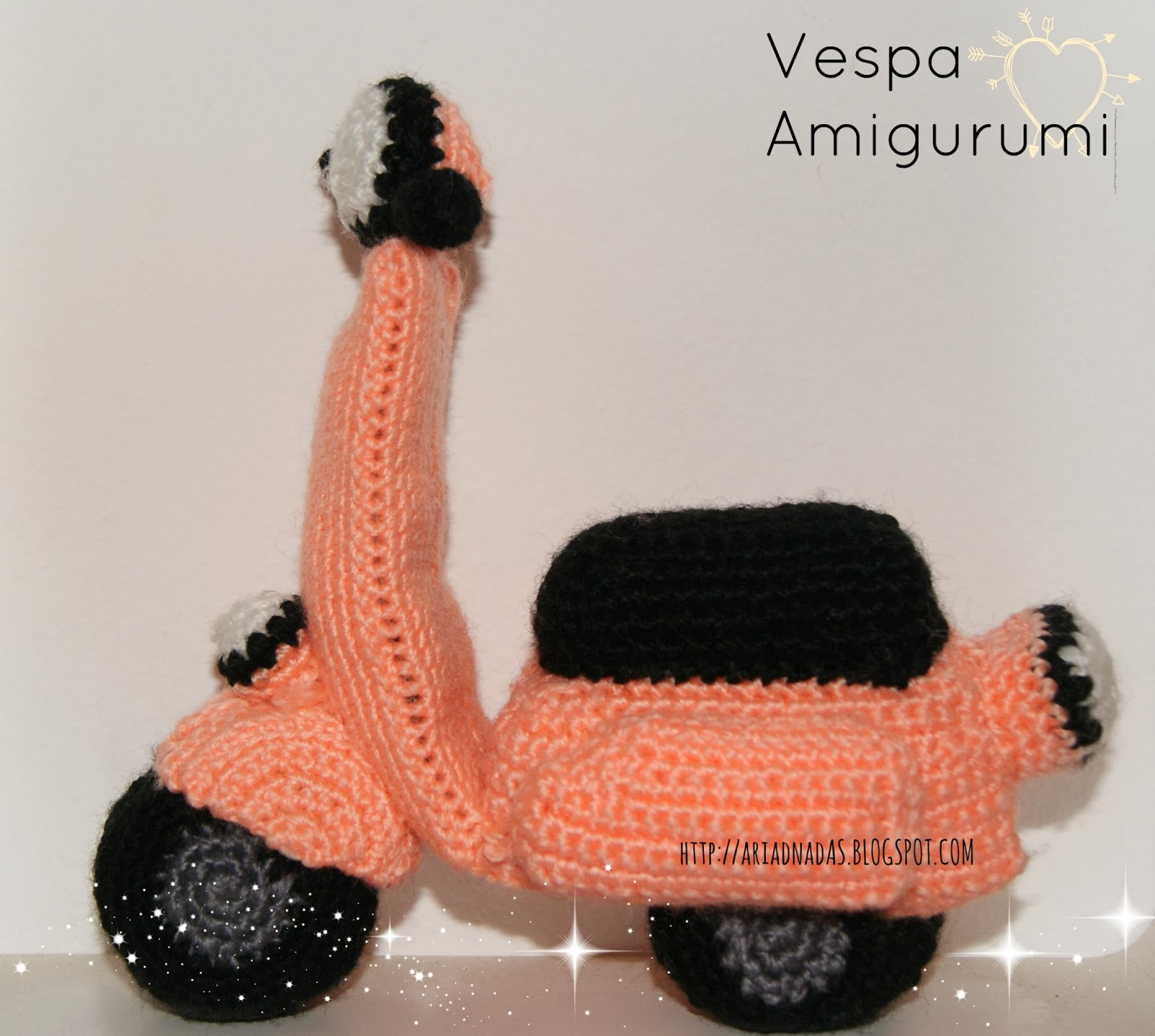 Ariadnadas: Vespa Amigurumi