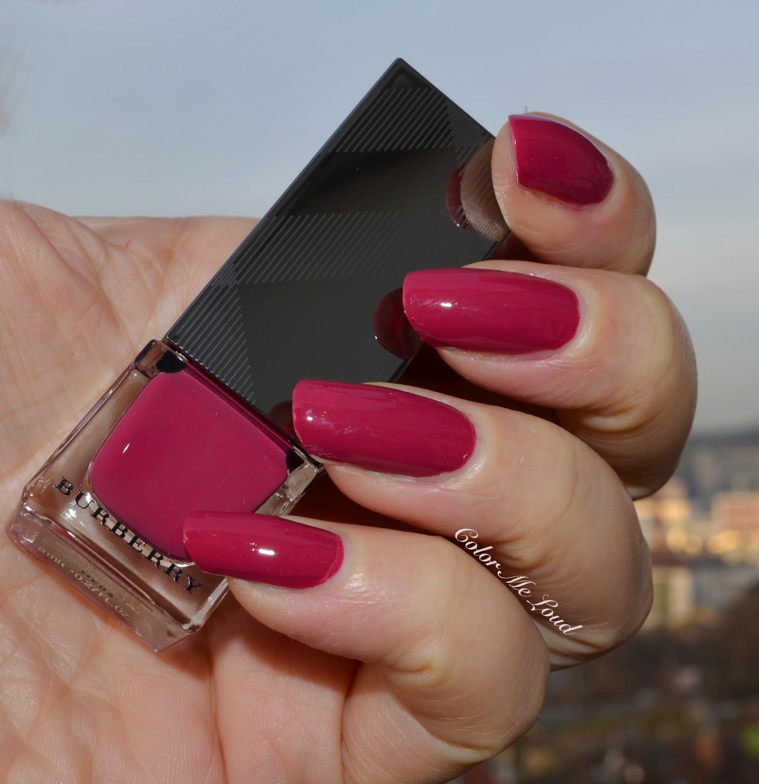Burberry Nail Polish #223 Pink Azalea
