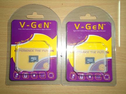 MicroSD V-GEN TERMURAH SE-BERRYINDORAYA! 2GB:23rb, 4GB:26rb, 8GB:36rb ...