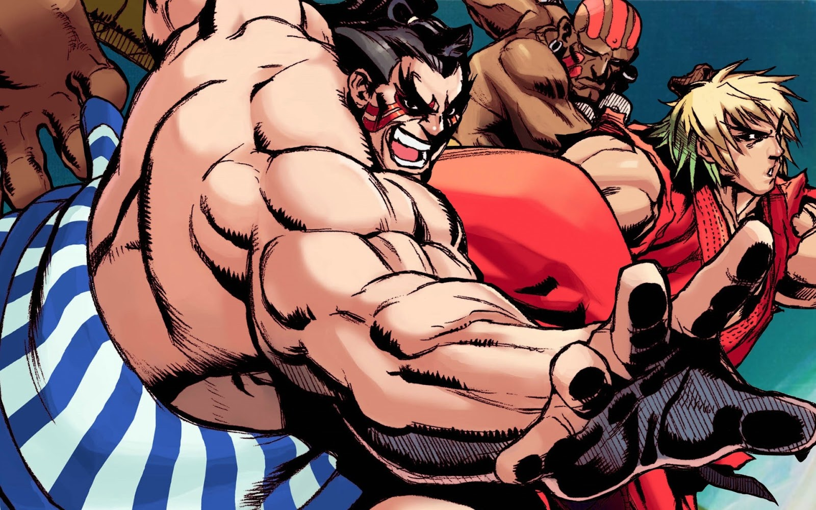 Street Fighter HD & Widescreen Wallpaper 0.041877181210225