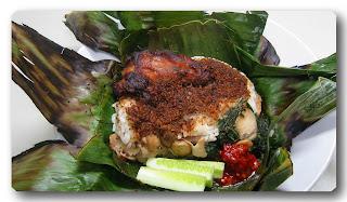 resep nasi bakar ayam pedas