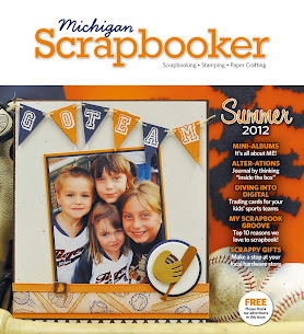 Michgan Scrapbooker Magazine-Winter 2011