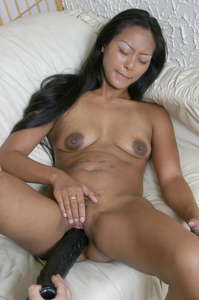 black-slut-with-dildo-naughty-wife-in-bikini