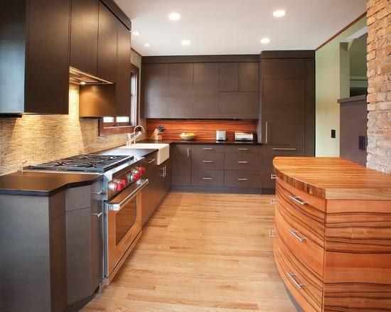 gambar bentuk lemari gantung dapur minimalis desain