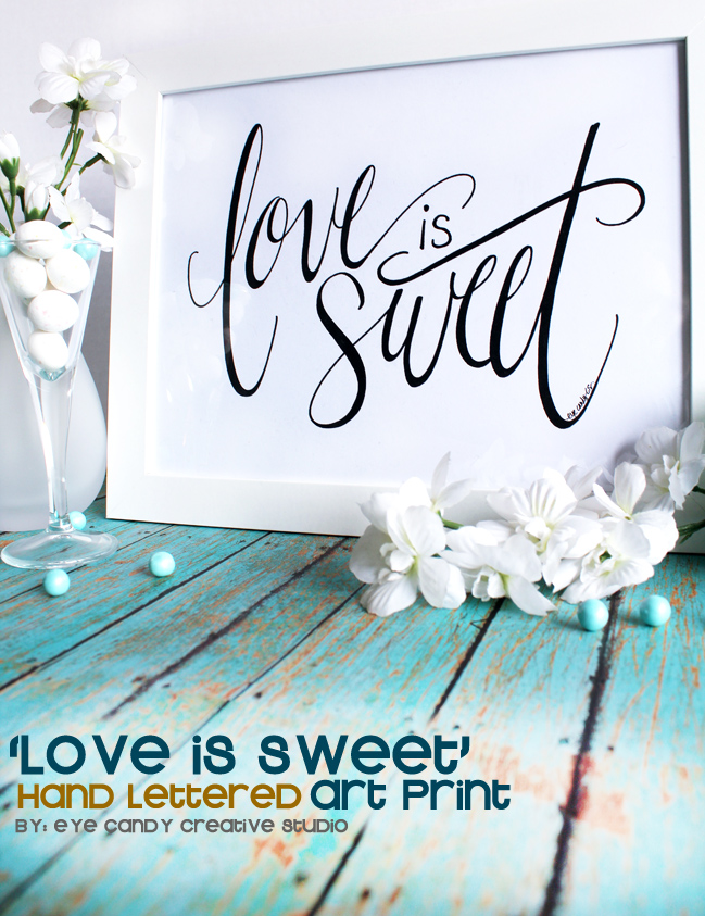 love is sweet, candy bar, wedding decor, reception, birthday party