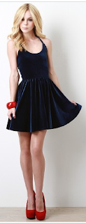 Entranced Ballerina Dress Velvet