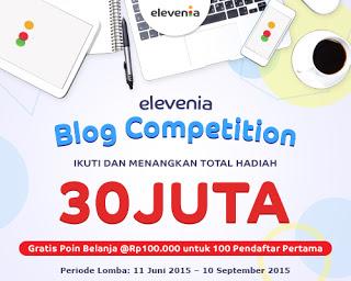 Kontes Belanja di Elevenia gratis voucher 1 juta