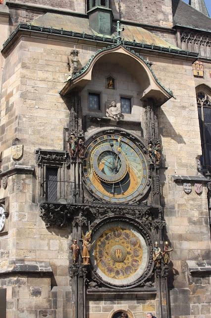 Астрономические часы, Прага, Чехия.