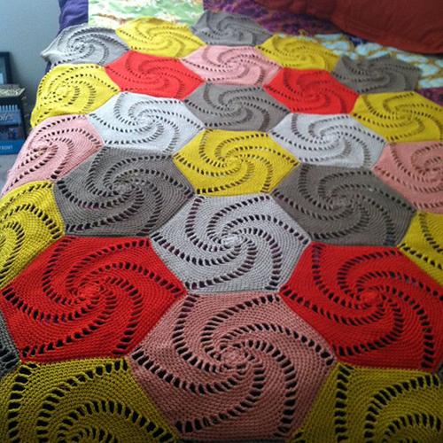 Crochet Patterns Guide : Crochet Guide: Salem Bedspread Crochet Pattern