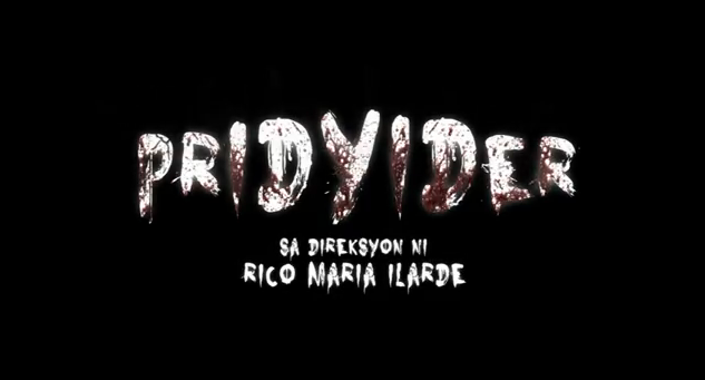 Pridyider 2012 philippine horror movie title  from Regal Films under the direction of Rico Maria Ilarde starring Andi Eigenmann, JM De Guzman, Janice De Belen, Joel Torre, Baron Geisler, Bekimon, and Venus Raj